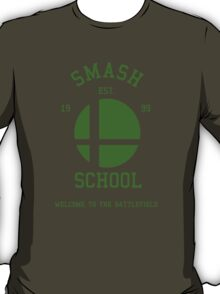 Smash School (Green) T-Shirt