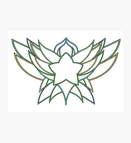 star guardian logo Lulu Photographic Print
