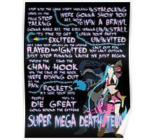Super Mega Death Team Poster