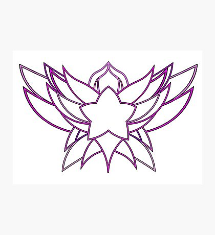 star guardian logo Lux Photographic Print