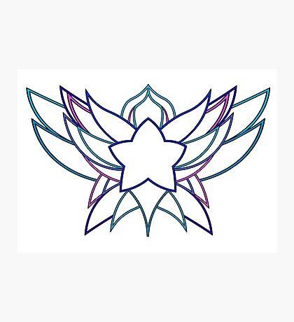 star guardian logo Poppy Photographic Print