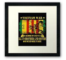 Vietnam War Veteran Framed Print