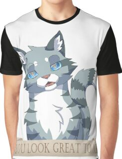 Warrior Cats: Sarcastic Jayfeather Graphic T-Shirt