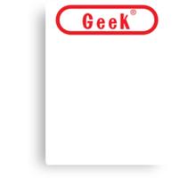 Video Game Geek Canvas Print