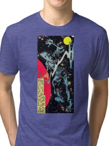 Space War 10, 1961 interior panel by Ditko Tri-blend T-Shirt