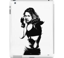 lady gihter iPad Case/Skin