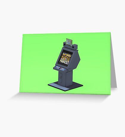 Capcom New Concept II Greeting Card