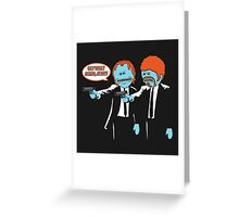 Say What Greeting Card