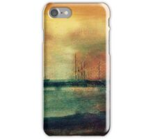 Shipyard in coppers circa 1910 iPhone Case/Skin