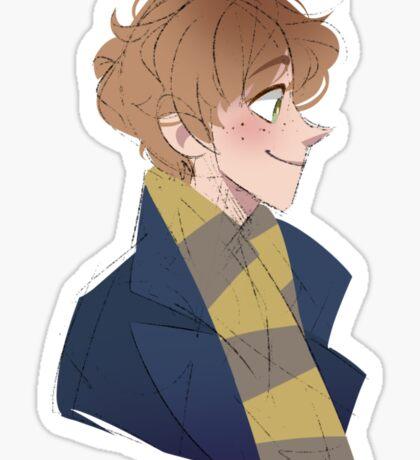 Mr Scamander Sticker