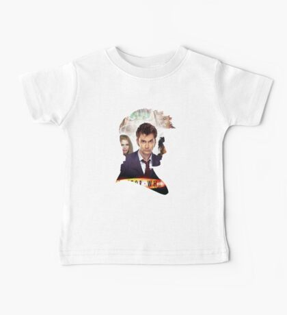 Doctor Who-David Tennant Baby Tee