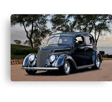 1937 Ford Four Door Sedan III Canvas Print