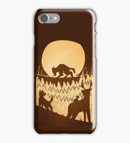 Full Moon in the Forbidden Forest iPhone Case/Skin