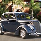 1937 Ford Four Door Sedan II by DaveKoontz