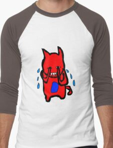 Sad Monster Men's Baseball ¾ T-Shirt