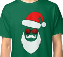 Cool Santa Face with Sunglasses Classic T-Shirt