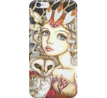 Princess Bianca and George the Brave Heart iPhone Case/Skin
