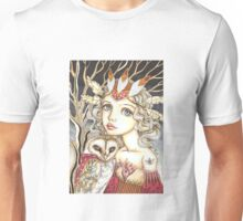 Princess Bianca and George the Brave Heart Unisex T-Shirt