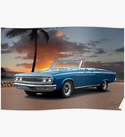 1965 Dodge Coronet 440 Convertible Poster
