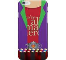 mad hatter. iPhone Case/Skin