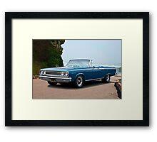 1965 Dodge Coronet 440 Convertible I Framed Print