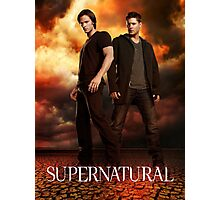 Supernatural Cover Photographic Print