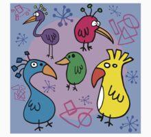 Bird Brains 01 Kids Tee