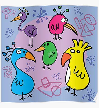Bird Brains 01 Poster