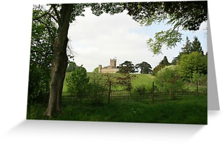 Rolling hills towards Downton Abbey by miradorpictures