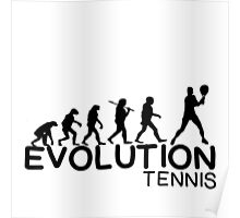 EVOLUTION OF TENNIS Poster