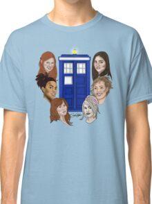 Ladies Of The TARDIS Classic T-Shirt