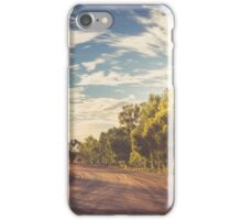 on the track out the back iPhone Case/Skin