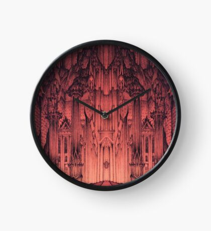 The Gates of Barad Dûr Clock