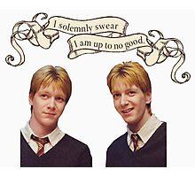 Weasley Twins Photographic Print