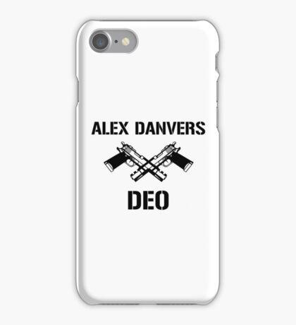 Alex Danvers DEO iPhone Case/Skin