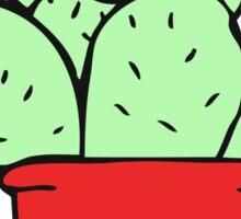 cartoon cactus Sticker