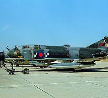 McDonnell F-4M Phantom FGR.2 XV438/A by Colin Smedley