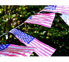 US Flag Photographic Print