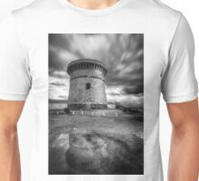 The watchtower in El Campello after the rain Unisex T-Shirt