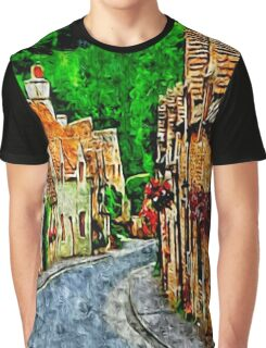 COUNTRY COTTAGES 29D2-T Graphic T-Shirt