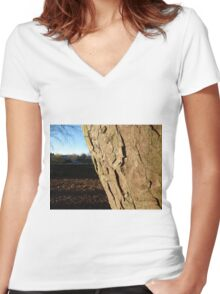 Tree Photograph Women's Fitted V-Neck T-Shirt