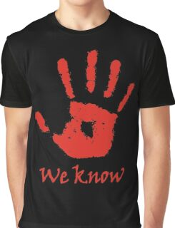 We Know - Dark Brotherhood Graphic T-Shirt