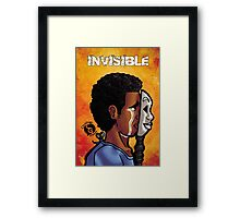 With an Invisible Disease Framed Print