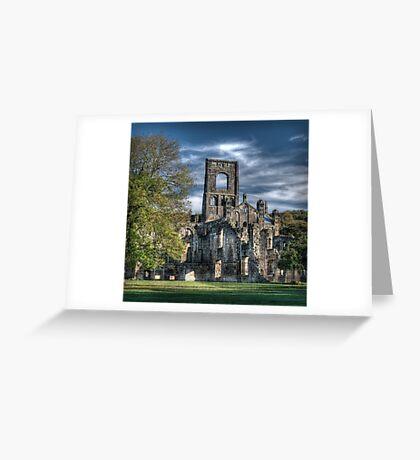 Kirkstall Abbey Greeting Card