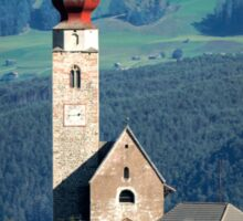 South Tyrolean Church Sticker