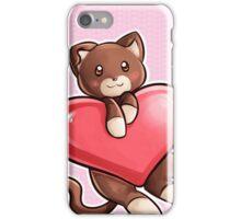 Heart Kitty iPhone Case/Skin
