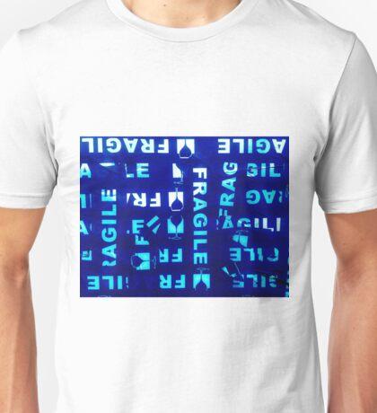 Fragile Dark Blue Unisex T-Shirt
