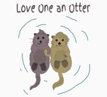 Love One An Otter by Meash