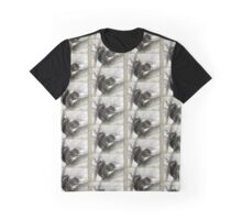 Squirrel in Snowstorm Graphic T-Shirt