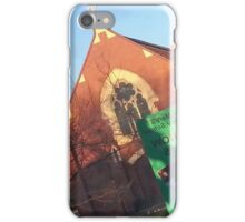 Reflections of Romsey Church iPhone Case/Skin